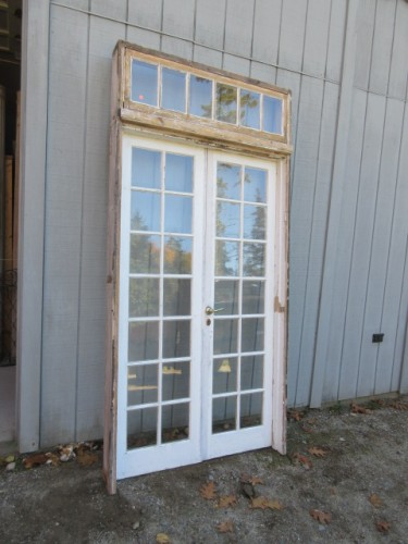 Architectural Antiquities 248 Mini French Door Unit With Transom