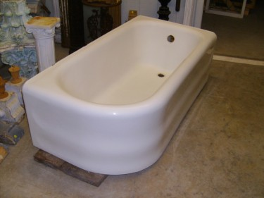 Architectural Antiquities 73 Left End Finished Tub 30